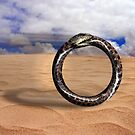 Hoop Snake on the Dunes by GolemAura