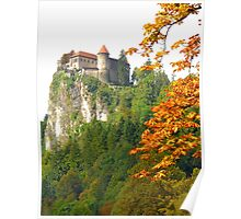 Bled Castle, Slovenia Poster