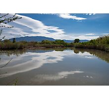 sandia mountains Photographic Print