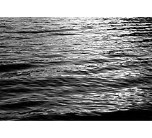 Time Ripples BW Photographic Print