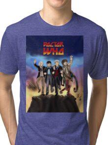 'Doctor Who meets KISS' Version 1 Tri-blend T-Shirt