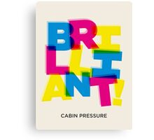 Brilliant! Canvas Print