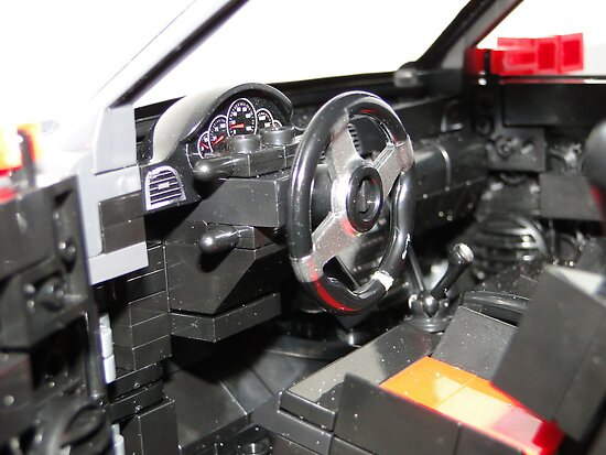 LEGO Car by MegaBloks Interior by CandyBond