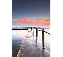 Pink Pillows - Newport Beach NSW Photographic Print