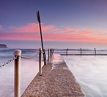 Pink Pillows II - Newport Beach NSW by Andrew Kerr