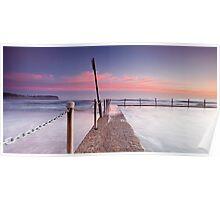 Pink Pillows II - Newport Beach NSW Poster