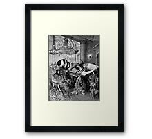 Fishermans Ball. Framed Print