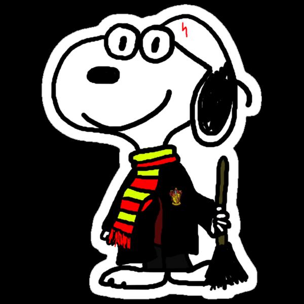 Snoopy Potter by stevebluey