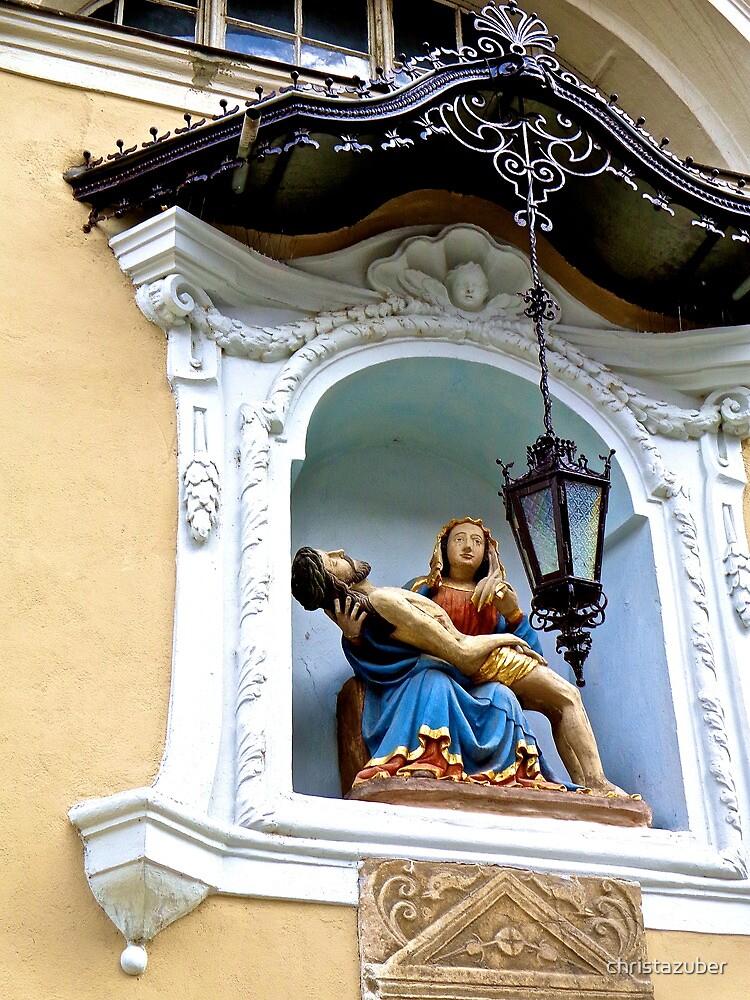Pieta, Saint Nicholas' Cathedral, Ljubljana, Slovenia by christazuber