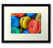 Simple Amusement Framed Print