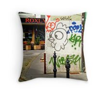 Graffiti, Ljubljana, Slovenia Throw Pillow