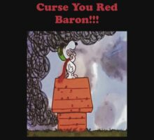Curse you Red Baron! Kids Clothes