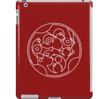DFTBA - Gallifreyan (White) iPad Case/Skin