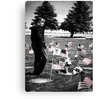 Remembering with Honor Canvas Print