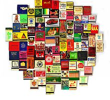 """82 Matchbooks"" by XRAY1"