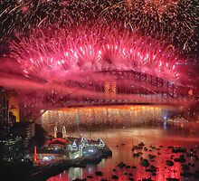 We Will Rock You ! # 3 - Sydney Harbour NYE  Fireworks by Philip Johnson