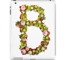 Capital Letter B Part of a set of letters, Numbers and symbols  iPad Case/Skin