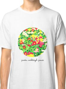 Painting Flowers (Womens Tee) Classic T-Shirt