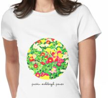Painting Flowers (Womens Tee) Womens Fitted T-Shirt