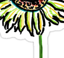 Himawari - Zen Sunflower Sticker