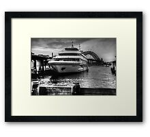 Sydney 2000 at Circular Quay Framed Print