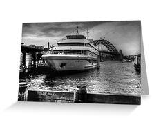 Sydney 2000 at Circular Quay Greeting Card