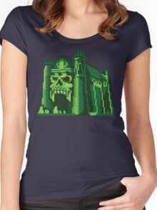 By the Pixel of Grayskull Women's Fitted Scoop T-Shirt