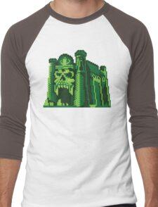By the Pixel of Grayskull Men's Baseball ¾ T-Shirt