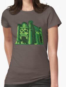 By the Pixel of Grayskull Womens Fitted T-Shirt