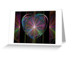 Kaleidoscope Heart Greeting Card