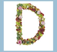 Capital Letter D Part of a set of letters, Numbers and symbols Kids Clothes