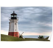 Vermillion Lighthouse Poster