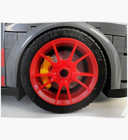 LEGO Car by MegaBloks Tire Poster