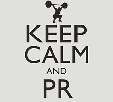 Keep Calm and PR (black) Unisex T-Shirt