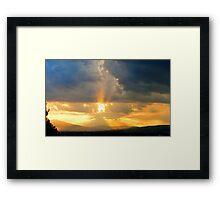 ©HCS Hit The Cloud Framed Print