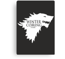 Game of Thrones - Stark house Canvas Print
