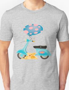 Teddy's Scooter  Unisex T-Shirt