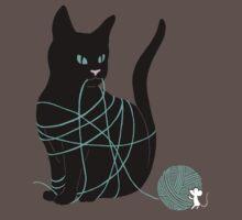 Caught Cat by vonplatypus