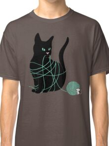 Caught Cat Classic T-Shirt