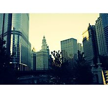 Chicago standing tall~ Photographic Print