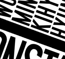 Monsta X Member Names List Sticker