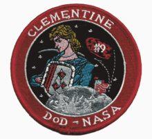 NASA DoD Clementine Mission Logo One Piece - Short Sleeve