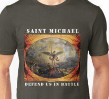 St. Michael Defend Us in Battle Unisex T-Shirt
