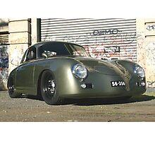 Porsche 356 Outlaw Photographic Print