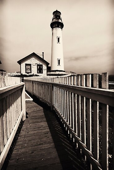 Pigeon Point Light-I by George Oze