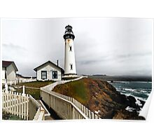 Pigeon Point Light-III Poster