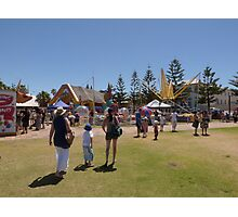 All the fun of the Fair! 'Semaphore', summer. Sth. Australia. Photographic Print