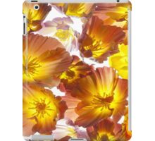 A carpet of Poppies iPad Case/Skin