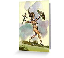 Sword & Shield Greeting Card