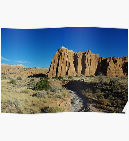 Cathedral Valley impression Poster